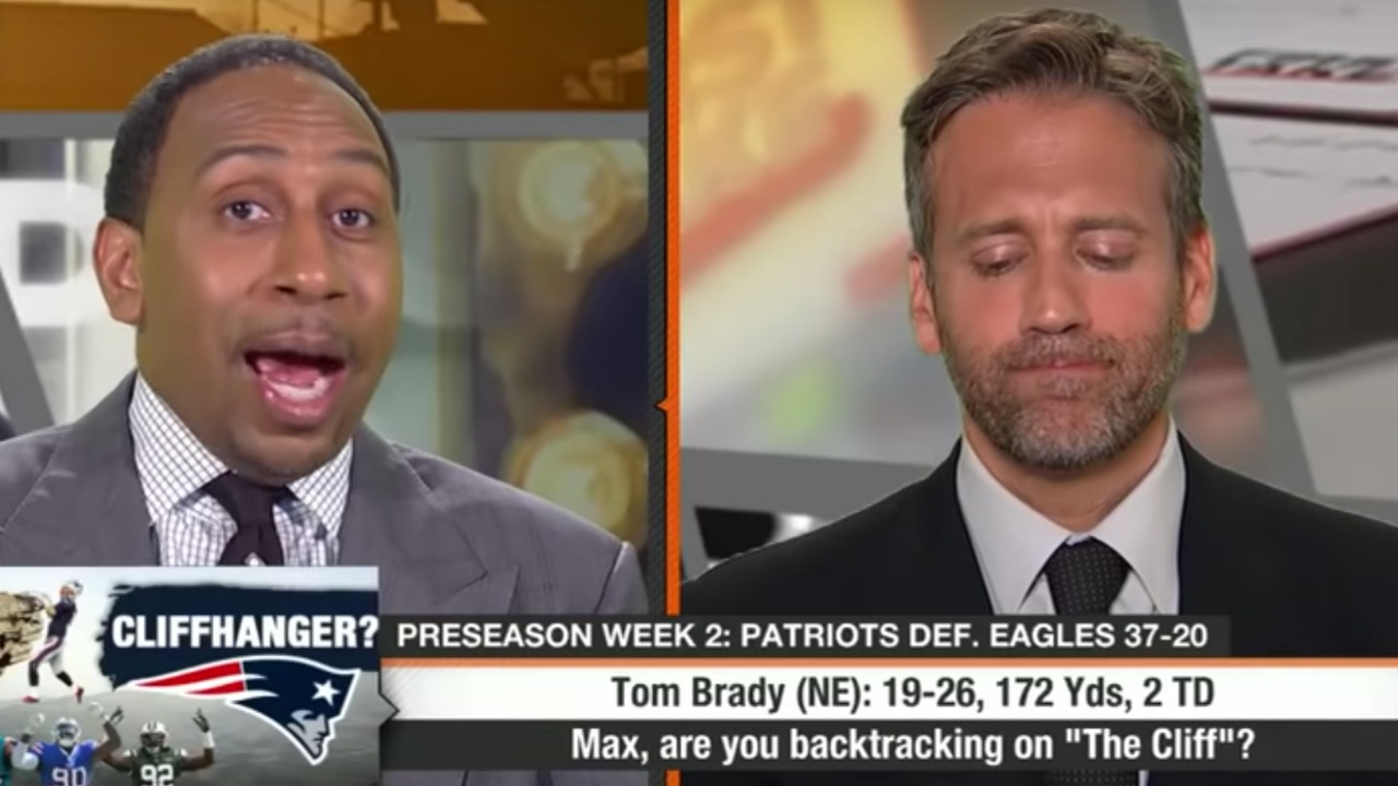 Watch: Stephen A  Smith Destroys Max Kellerman Over Trash