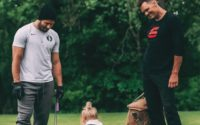 Brady on Saturday shared photos of a recent workout with receivers Julian Edelman, the beneficiary of a new contract extension