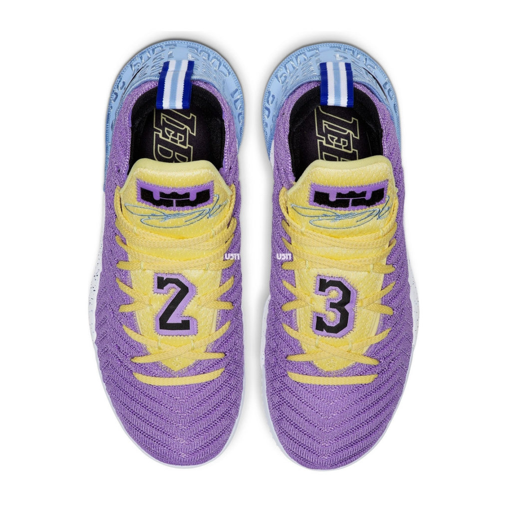 """low priced 1d156 37c5f Photos: Upcoming Nike LeBron 16 """"Lakers"""" Honors The ..."""
