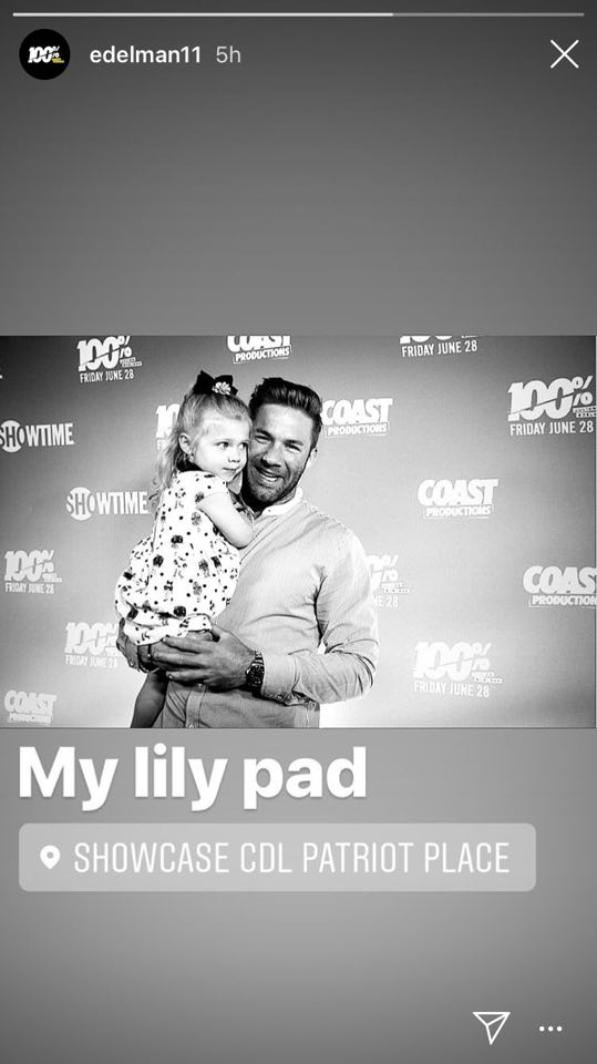 Julian Edelman Posts Adorable Photo With His Daughter During