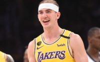 The Heartwarming Way Lakers' Alex Caruso Is Spending His Down Time in Bubble
