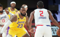Lakers Coach Argues With Clippers Fan, Downplays Threat of Kawhi Leonard