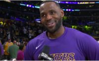 Watch: LeBron James Delivers Heartfelt Message About Kobe Bryant's Family After Game 3 Win Over Rockets