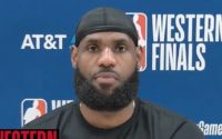LeBron James Addresses On Jamal Murray Elbowing Him in The Face