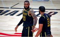 Anthony Davis Reveals Details on Argument he And LeBron James Had on Court in Game 2