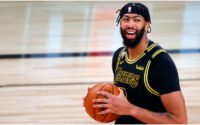 Anthony Davis Gives Viral Response to Whether He's Kobe or Shaq in Tandem With LeBron James