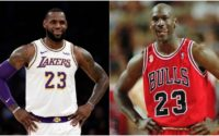Photo: Map Shows Who's Winning GOAT Debate Between LeBron James And Michael Jordan After 2020 Lakers Championship