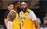 Anthony Davis Reacts to Joining Shaquille O'Neal and George Mikan in Lakers History