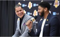 Rob Pelinka Teases Plans to Pair Anthony Davis With Young Star